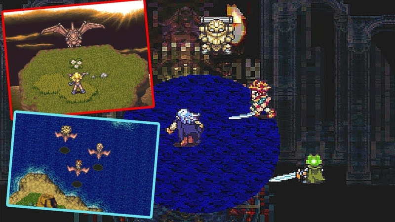 Chrono Trigger (14) Гравитационная яма