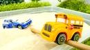 Speedy está atrapado en la arena Coches para niños