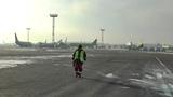 Наземное обслуживание (Ground Handling) ВС А-319 авиакомпании S7 Airlines в аэропорту Домодедово ч.1