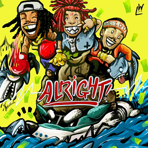 Wiz Khalifa альбом Alright (feat. Trippie Redd & Preme)