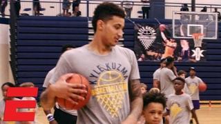 Kyle Kuzma helping Flint, Michigan with free basketball camp for kids | NBA