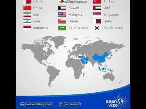 ישראל Israel Azerbaijan airports ASAN Visa באקו - אתרי החובה בבירת אזרבייג