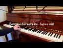 Yann Tiersen Comptine d'un autre été l'apres midi Sean Tolino Cover