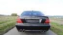 Mercedes S500 W220 c брутальным выхлопом!