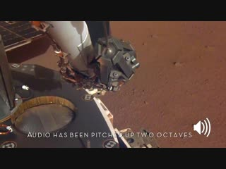 Sounds of Mars- NASA's InSight Senses Martian Wind
