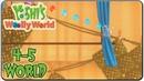 Yoshi wooly world 4 5 Sunset at Curtain Falls