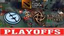 EG vs NiP Playoffs The Kuala Lumpur Major (ДВА НЕ РЕАЛЬНЫХ КАМБЭКА ОТ EG)