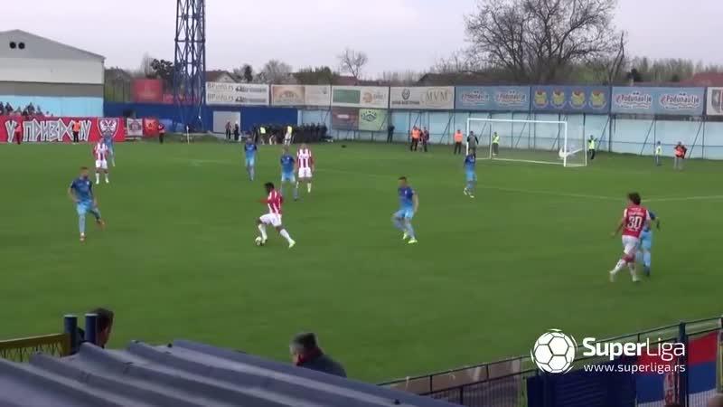 Super liga 2018 19 OFK BAČKA CRVENA ZVEZDA 1 3 1 2