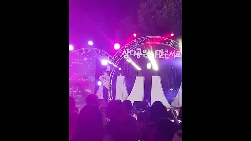 Gaho — Girls like you (Maroon 5 cover) || Fancam || 160819 Jeju Samda Park Concert