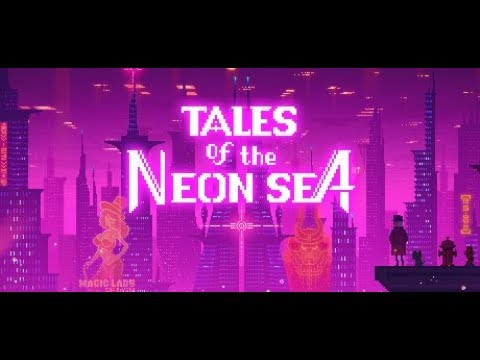 Tales of the Neon Sea - Demo Gameplay - PC | Indie game | Zodiac Interactive