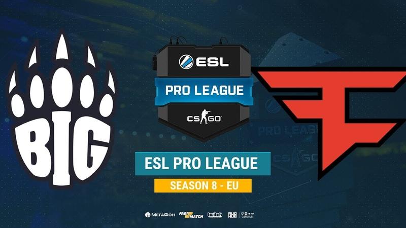BIG vs FaZe ESL Pro League S8 EU bo1 de cache Enkanis ceh9