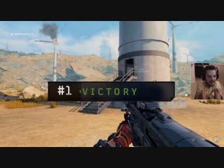 Massive props to this gamer, winning a game of blackout with no hands and with an incredible 14 kills. black ops 4