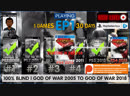 God of War III Remastered EP1 6 GodofWar games 19 days left 100 Blind