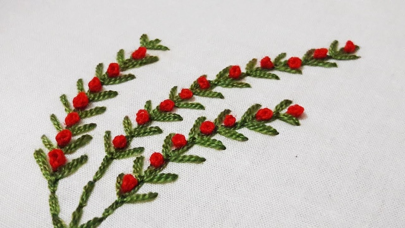 Hand Embroidery for Beginners by cherry blossom.