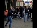 В Москве футбольные болельщики устроили драку