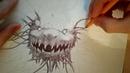 My ballpoint pen drawing №2 (рисунок шариковой ручкой)