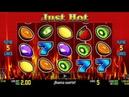 Slot Machine Just Hot Vincitore