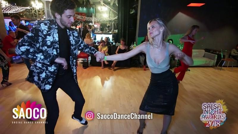 Sergey Gazaryan and Svetlana Malysheva Salsa Dancing at Salsa Night Awards 2018, Sunday 14.04.2019