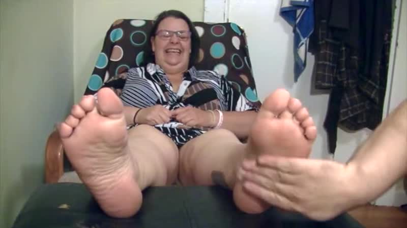 Bbw Ms. Hazard Tickled