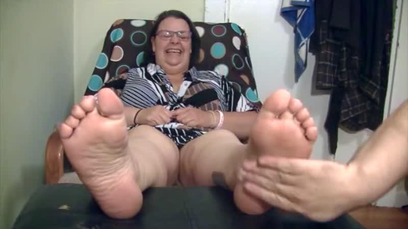 Bbw Ms Hazard Tickled
