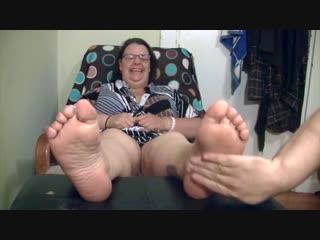 Bbw Ms. Hazard Tickled