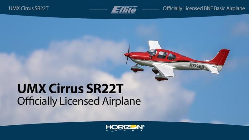 E-flite® UMX™ Cirrus SR22T BNF Basic