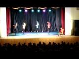 Театр танцаИскушение.Шоу под дождём.