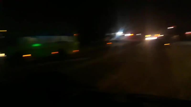 В Абакане у оптовых баз столкнулись три автомобиля