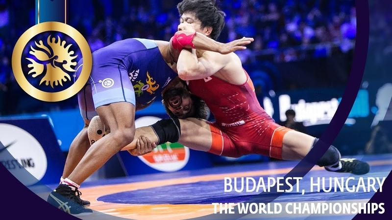 ЧМ 2018 Финал 65 кг Такуто Отогуро Япония vs Баджранг Пуния Индия