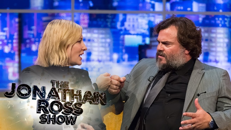 Cate Blanchett Jack Black Declare Their Love for the UK and Mushy Peas | The Jonathan Ross Show