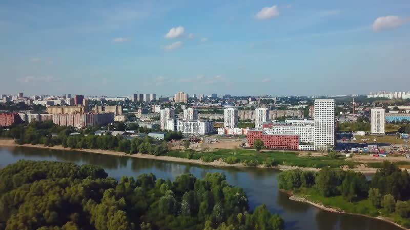 Микрорайон Европейский Берег Новосибирск