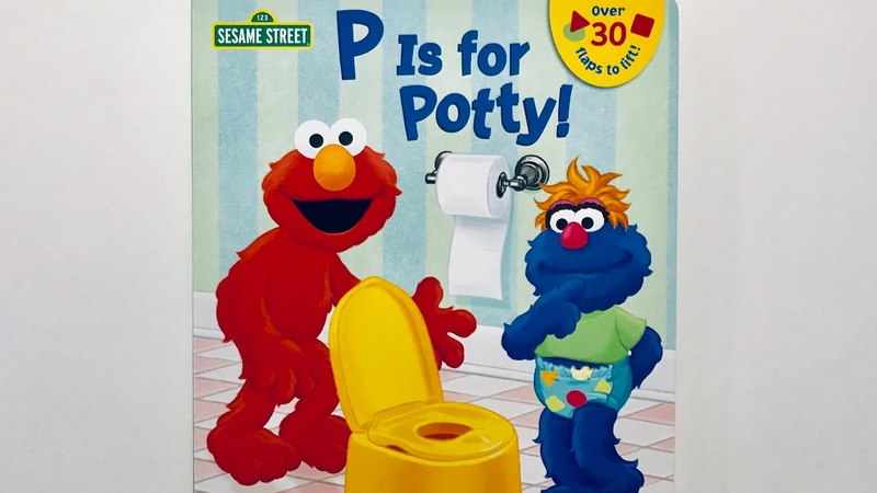 P Is for Potty! by Naomi Kleinberg Read Aloud by Books Read Aloud For Children