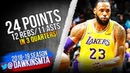 LeBron James Triple-Double 2018.12.15 Lakers vs Hornets - 24 Pts, 12 Rebs, 11 Asts! | FreeDawkins