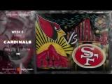 Coming Soon 49ers vs. Cardinals