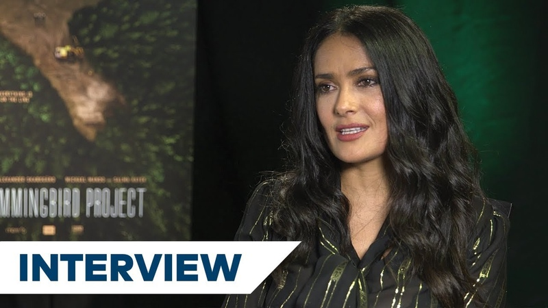 Salma Hayek On The Challenges Of Playing Her Role In The Hummingbird Project TIFF 2018