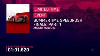 Aspahlt 9 | Summertime Speedrush Final Part 1 - 1:00.993 | Fastest Route - Top 1% (5* Evo Rank 4109)