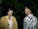 Keanu Reeves being interviewed, 1985