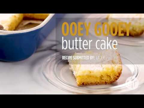 How to Make Ooey Gooey Butter Cake | Cake Recipes | Allrecipes.com