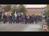 Велосипедисты объединились против рака груди