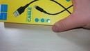 Кабель usb для Iphone Hoco x25 чёрный в жёлтой коробке