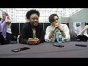 NYCC 2018: Legacies - Quincy Fouse (MG) and Aria Shahghasemi (Landon)