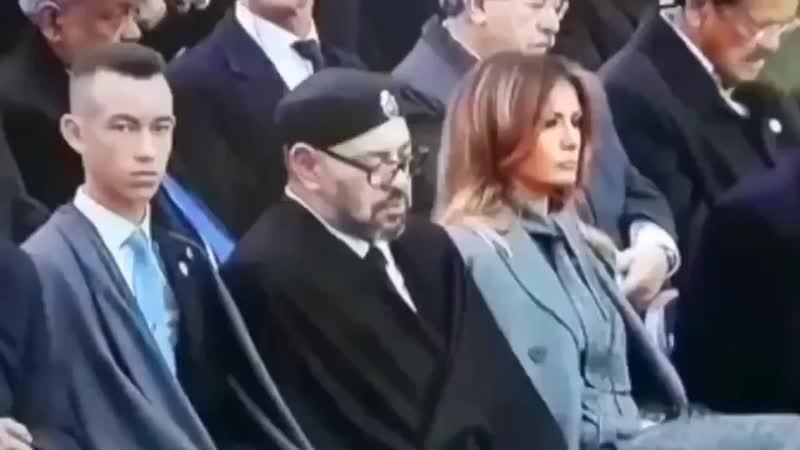 Шок! 18 Король Марокко переспал с Меланией Трамп прямо на глазах у её мужа!