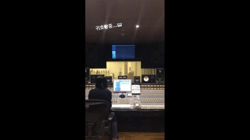 [180914] Eunji Instagram-Story Update