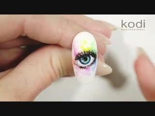 Акварельная роспись гель-лаками kodi professional