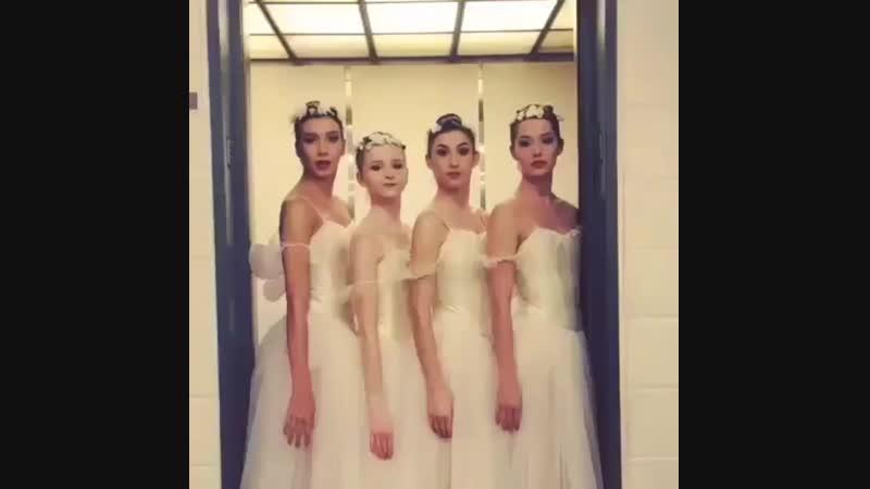 Балерины в отрыве