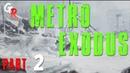 Поезд Аврора - Metro Exodus прохождение part 2 / метро исход