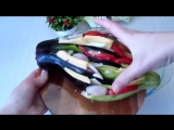 Вкуснятина нереальная из кабачка и баклажана (ингредиенты под видео)