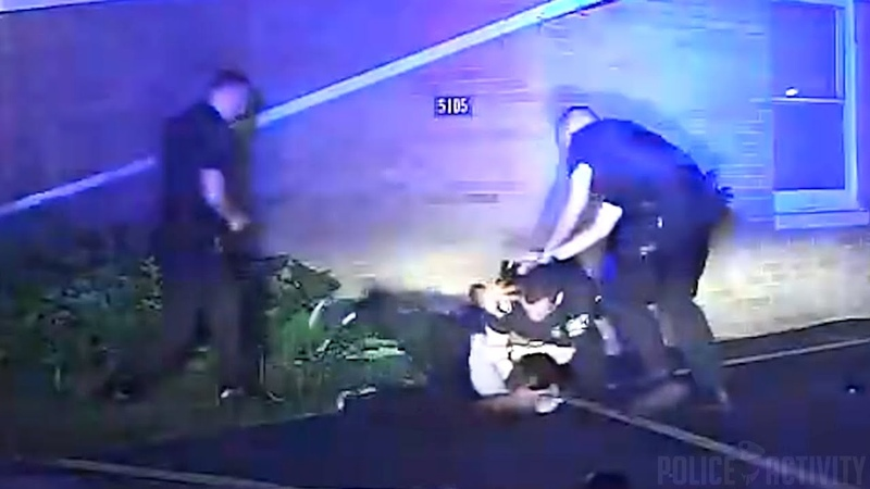 Dashcam Shows Suspect Tasered After Attacking Police Officers