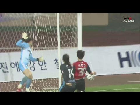보은상무 vs 구미스포츠토토 : 현대제철 H CORE 2018 WK리그 25R - 2018.10.1