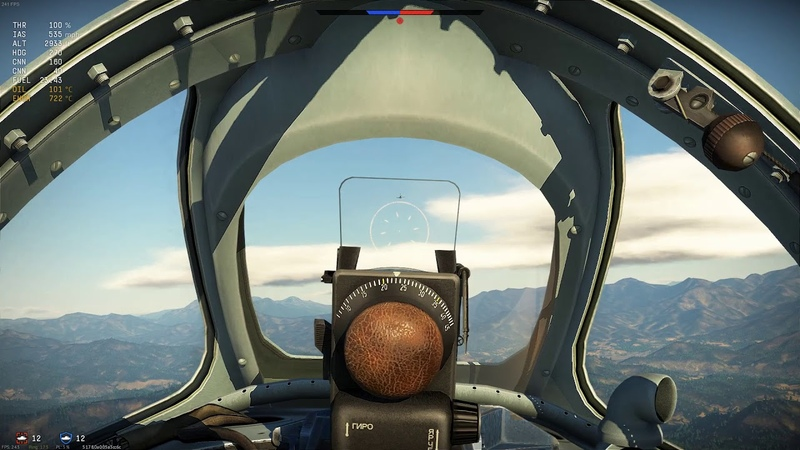 Warthunder Sim MiG 15bis How the Turntables